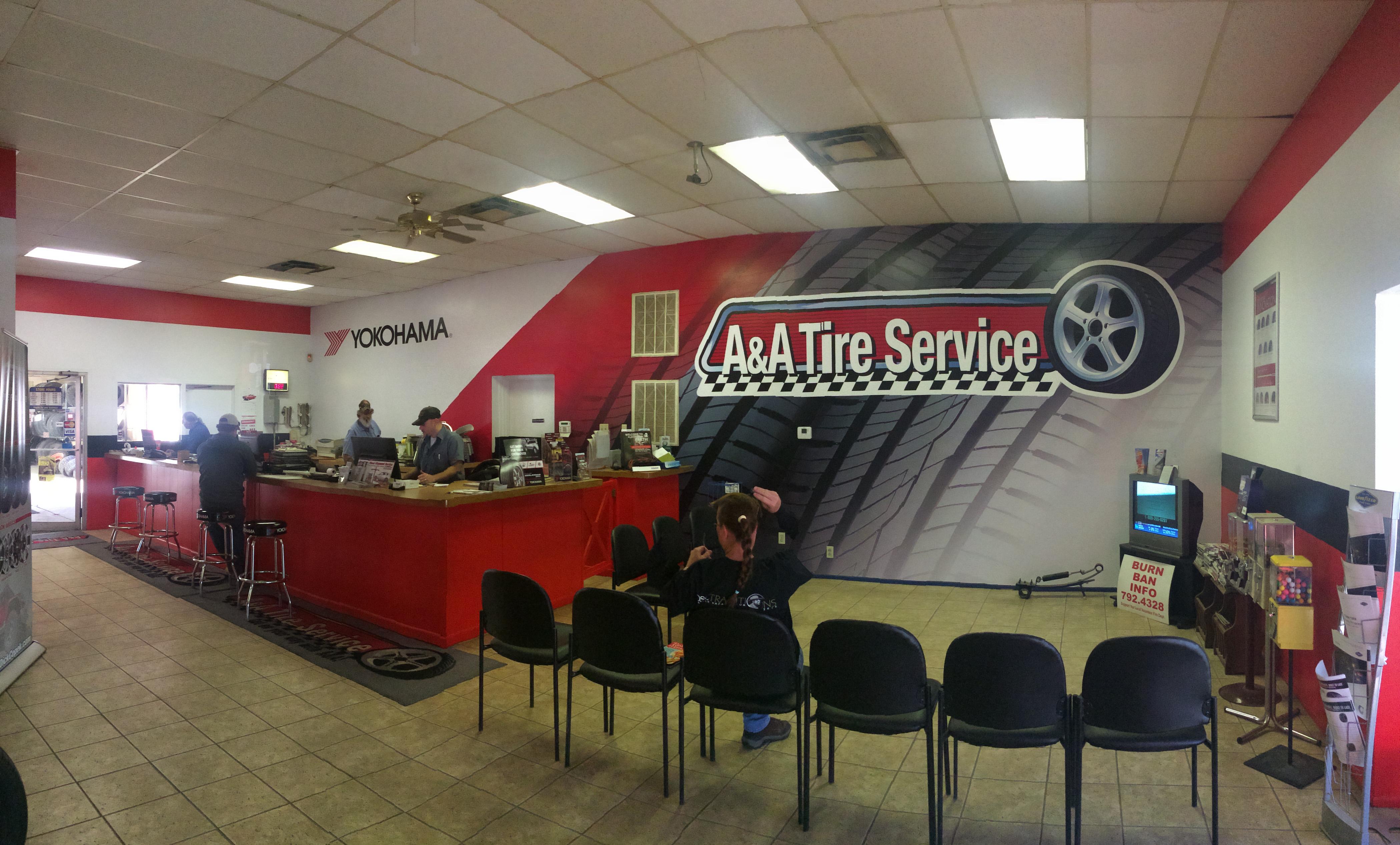 About A & A Tire Service Inc Kerrville Texas Tires Shop
